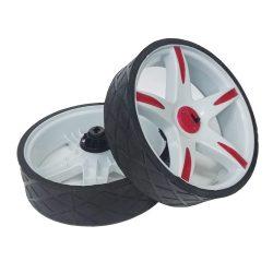 2/ruedas de repuesto de calidad para carritos de compras y carros.